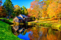 Fall at Mabry's Mill