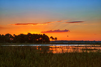 Sunset at Myakka River State Park